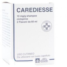 Carediesse*shamp2fl 60ml10mg/g