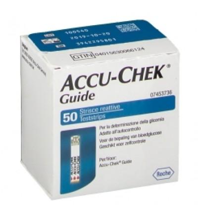 Accu-chek Guide 50 Strips Reta