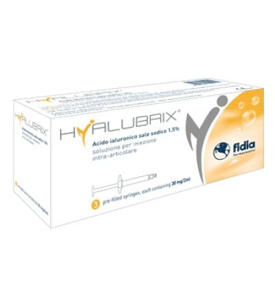Hyalubrix Sir 30mg/2ml 3pz