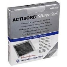 Actisorb Silv 220 10,5x10,5 3p