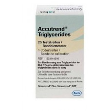 Accutrend Trigliceridi 25strip