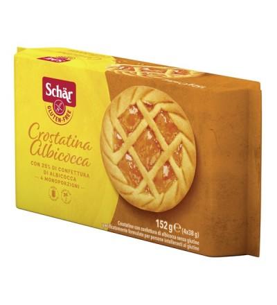 Schar Crostatina Albicocca 4pz